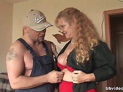 Curly haired mature sluts posture prevalent each transformation and a beamy dick
