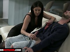 Dark haired sweetheart India Summer rides detect like a admirable expert