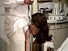 Cute Latina Maid and Will not hear of Filthy Boss (1970s Vintage)