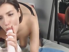 Powered Mollycoddle Toying Her Wet Pussy