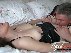 AgedLovE British Mature Hardcore Fuck with the addition of Blowjob