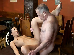 Old man fuck anal and young kissing first majority mot his