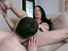 Tight mature adores the young dong in will not hear of tight holes