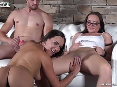 Czech MILF challenges a guy to a steamy fuck session adjacent to her