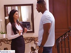 Super alluring India Summer provides long BBC with a good BJ