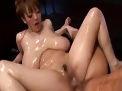 HUGE TITS Asian Girl Gets Fucked Hard