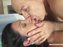 Hot doctor fucks her much older patient ripening and she's so naughty