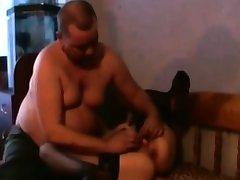 Homemade bondage mature girl