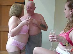 AgedLovE Two Matures and Readily obtainable Man relating to Threesome