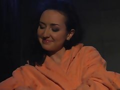 dayana dineva (alice in etvshow), bulgarian hatless shower show