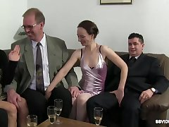 Passionate fucking at near a detailed fuck party with German matures