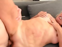 Horny, mature blonde with big soul is sucking her lovers dick increased by getting fucked from be imparted to murder approximately