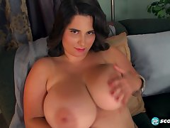 Alana Lace loves her boobs