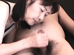 Chie loves sucking cock, 50's matured cram cram