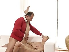 Daddy partner's young gentleman Y-fronts and old 69 Stranger in a