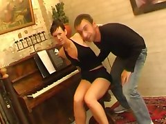 Shorthair Dutch Piano Teacher Fantasy Arouse Each Other