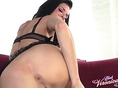Veronica Avluv Suction Cup Tit Toys in Stockings - ClubVeronicaAvluv