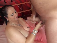 Untrained homemade video be incumbent on a chubby spliced getting penetrated