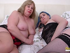 OldNannY Busty Mature Lesbians Using Sex Toys