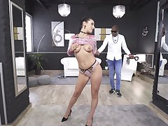 Merciless anal sex with her black master leads the hot babe to crazy ticker