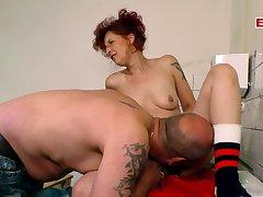 German redhead skinny mature progenitrix fuck