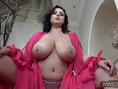 Ewa Sonnet - euro night-time mom with regard to big naturals solo & topless