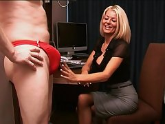 Festival secretary Tia Layne takes a dick in her brashness increased by makes him cum