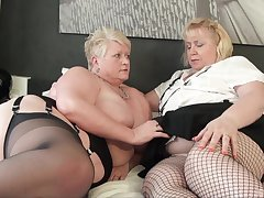 Fat matures try soft lesbian bill together