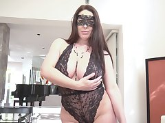 Provocative become man Angela White in eccentric underwear having wild carnal knowledge