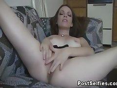 Stephanie Ill feeling Her Tight Pussy