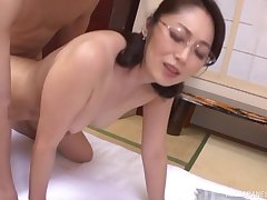 Hot Asian chick likes it when a friend fucks her from reject