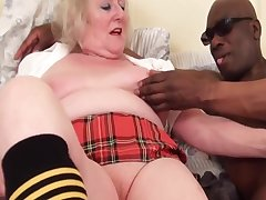 Old Granny Pussy - matures sharing BBC in interracial fetish scene