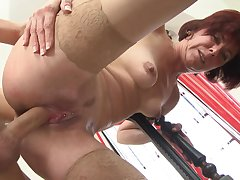 Mature pushes the limits during sex regarding sultry nephew