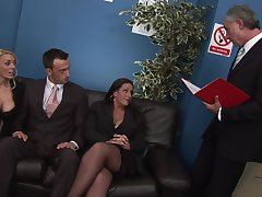 Selfish woman share and swap in dirty situation tryout