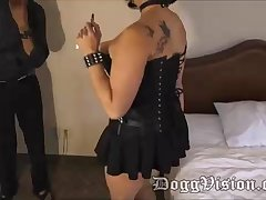 Latin cougar is plowing a ebony man in a motel apartment, to earn some cash